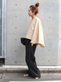FRAMeWORKのシャツ・ブラウス「≪予約≫スクエアーブラウス◆」を使ったharu(Spick & Span 本社)のコーディネートです。WEARはモデル・俳優・ショップスタッフなどの着こなしをチェックできるファッションコーディネートサイトです。