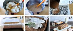 Yummy Recipes: Decorated Coffee Swiss Roll with Step-by-Step recipes