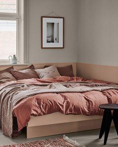 Home Decor Bedroom .Home Decor Bedroom Neutral Bedroom Decor, Gray Bedroom, Bedroom Colors, Home Decor Bedroom, Living Room Decor, Bedroom Small, Grey Bedroom With Pop Of Color, Comfort Gray, Piece A Vivre
