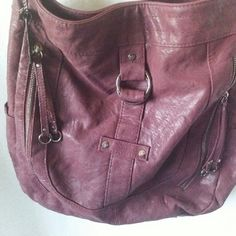 ROXY Ox Blood colored Crossbody Animal friendly, rich color, durable quality hardware, zipper storage inside and out Roxy Bags Crossbody Bags