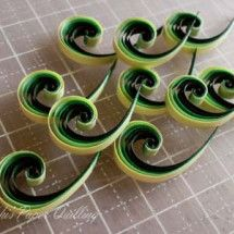 Toshi's Paper Quilling ♪の画像