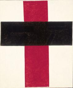 Kasimir Malevich Suprematism Cross 1920-2184 x 96,5cm Courtesy Stedelijk Museum Amsterdam