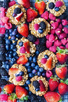 Crunchy Granola Bites   Weelicious #fruits #healthy #snacks #breakfast #kidfriendly #berries #summerrecipes #granola #recipes
