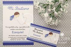 Invitacion Bautismo nene #bautismo # angelito #bautizo #imprimible