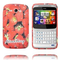 Fresh Fruit (Strawberry) HTC ChaCha Cover