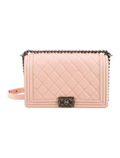 f5fb5906b996f9 Small boy CHANEL flap bag, the small pink one please! A girl can ...