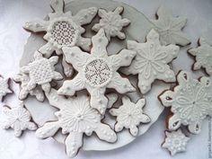 """Kulinarne ręcznie pamiątki.  Targi Masters - ręcznie pierniki """"Sweet śniegu"""" Archanioł Roe.  Handmade."""