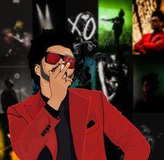 The weeknd star Abel Tesfaye The Weeknd Music, The Weeknd Albums, The Weeknd Poster, Abel The Weeknd, Music Mood, Art Music, Music Artists, Daft Punk, Twenty One Pilots