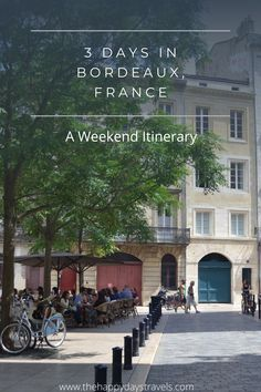 This is your itinerary for 3 Days in Bordeaux, France. Bordeaux is the wine capital of France and with lots of things to do in Bordeaux, save this 3 day itinerary for Bordeaux for your France travels. What to do in Bordeaux and how to spend 3 days in this French city. Explore Bordeaux. Bordeaux Weekend Trip #Bordeaux #FranceTravel #ExploreBordeaux #BordeauxTravel #VisitFrance Travel Goals, Travel Advice, Travel Around The World, Around The Worlds, Bordeaux France, Seize The Days, Visit France, Top Destinations, Beautiful Places In The World