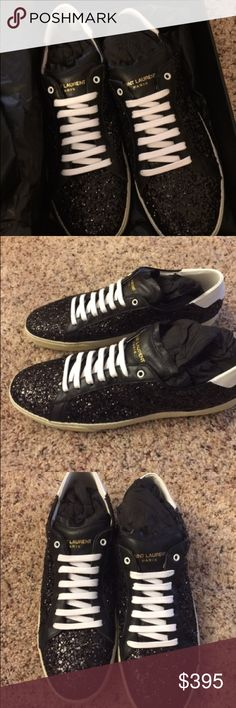 Nwt YSL Galaxy Sneakers Nwt YSL Galaxy Sneakers size 40. Ships quickly Saint Laurent Shoes Sneakers