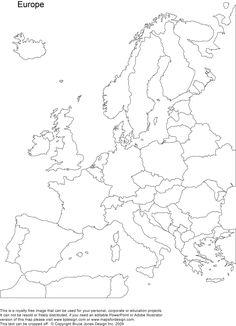 Maailman kartat printattavina.
