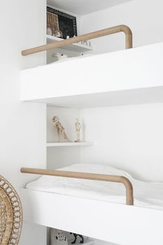Youngsters Bedroom Furnishings – Bunk Beds for Kids Modern Bunk Beds, Cool Bunk Beds, Kids Bunk Beds, Amazing Bunk Beds, Modern Headboard, Bunk Rooms, Bunk Bed Designs, Loft Spaces, My New Room