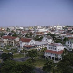 Guyana cities