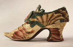 Zapatos. Inglaterra.1720.