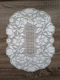 Items similar to Oval white floral filet crochet doily, tablecloth on Etsy Crochet Tablecloth Pattern, Free Crochet Doily Patterns, Filet Crochet Charts, Crochet Lace Edging, Baby Knitting Patterns, Sewing Patterns Free, Crochet Books, Crochet Art, Lace Doilies