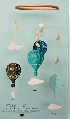 Chlos Craft Closet - Stampin Up! Independent Demonstrator: Onstage Display Cards Day 2 - Lift Me Up Arts And Crafts, Paper Crafts, Diy Crafts, Up Balloons, Air Balloon, Balloon Crafts, Stampin Up Catalog, Home And Deco, Summer Diy