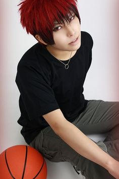 Kagami Taiga from Kuroko no Basuke [Voice Actor: Ono Yuki] Taiga Cosplay, Epic Cosplay, Snow White With The Red Hair, Kagami Taiga, Love Stage, Durarara, Blue Exorcist, Kuroko No Basket, Black Butler