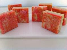 Pelin's Handmade Soaps / Colorful and energetic with a wonderful  summer citrus scent blend...