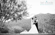 Love! Tucson Bride & Groom magazine Wedding Gown: Maya Palace :: Makeup & Hair: I Do Makeup and Hair Artistry by Margarita GoDiva :: Entertainment: Satyr Entertainment :: Cinematographer: Black Sheep Filmworks :: Photographer: Lori O'Toole Photography :: Ceremony and Reception Location: The Ritz-Carlton, Dove Mountain :: Floral design: Avant Garde Studio #brideandgroom #blackandwhite #realwedding #Tucson #weddingideas