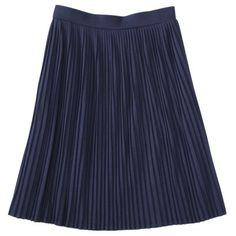 Mossimo® Womens Pleated Skirt - Lots of color choices (black, heather gray, berry, mint, orange, navy, grape)