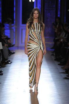 """Zuhair Murad - Haute couture - """"Casino fever"""", Printemps-été 2012"""