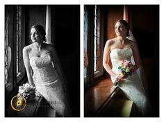 Bridal portrait shot in a lovely room in Dunston Hall Norwich