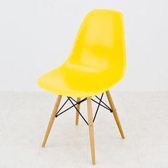 Eames 【予約品】63 イームズ サイドシェルチェア ウッド YE 北欧 インテリア 雑貨 家具 Modern ¥7400yen 〆05月15日