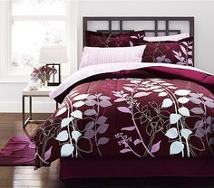Mainstays Wavy Bed in a Bag Bedding Set - Would love to have a bedding set like this. Description from pinterest.com. I searched for this on bing.com/images