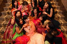 must have photo- with bridesmaid (friends + sisters)