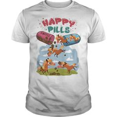 Happy pills for horse and coffee shirt