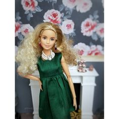 Barbie Clothes, Things To Think About, Curly, High Neck Dress, Easter, Decorations, Instagram, Dresses, Fashion