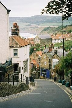 Robin hoods bay Just remember hills and cobblestones and curves about this place