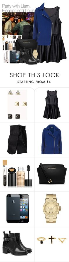 """""""Party with Liam, Eleanor and Louis"""" by wkus ❤ liked on Polyvore featuring Forever 21, Payne, H&M, Dorothy Perkins, Stila, Michael Kors, MICHAEL Michael Kors, Pull&Bear, Charlotte Russe and Topshop"""