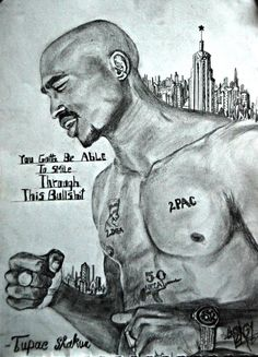 """""""You gotta be able to smile through this bullsh*t. Arte Do Hip Hop, Hip Hop Art, Tupac Quotes, 2pac Poems, Rap Quotes, Lyric Quotes, Movie Quotes, Mano Brown, Tupac Wallpaper"""