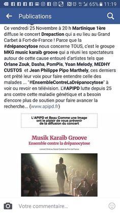 Medhy Custos Fan Club Officiel: Drépaction Martinique 2016 le concert en replay ic...
