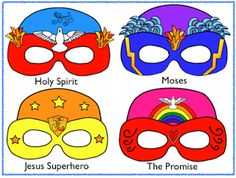 bible superhero decorations   Download Printables templates from this Blog
