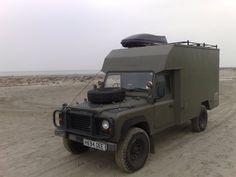 Bug Out Land Rover Defender  !!!!! AUFBAU !!!!!