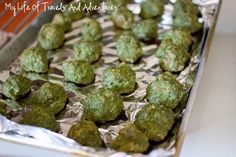 My Life of Travels and Adventures: Recipe: Turkey Meatballs (with Spinach)
