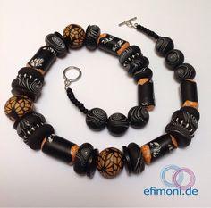 Ein persönlicher Favorit aus meinem Etsy-Shop https://www.etsy.com/de/listing/207237552/kunstler-halskette-orange-spirale