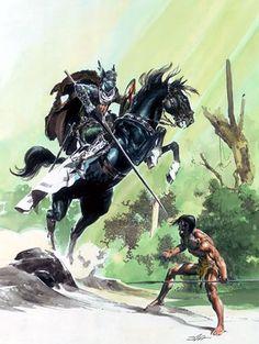 Cap'n's Comics: An Unused Tarzan Cover by Neal Adams