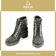 http://www.kannashoes.com/menu/tienda/otono-invierno-1617/id238-ki6780-glitter-celtic-negro.html   #shoes #kannashoes #kanna #autumn #winter #newseason #fashion #woman #fashion