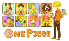 ONE PIECE | Nami, Sanji, Franky, Nico Robin, Roronoa Zoro, Usopp, Monkey D. Luffy, Tony Tony Chopper, Brook | Straw Hat Pirates | anime
