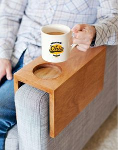 Sofa Sleeve DIY Cup Holder