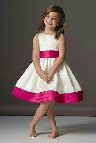 Vestido De Nena Para Fiesta O Casual - $ 563,00