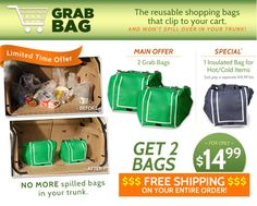 grab bags as seen on tv | You are here: Home » Household . » The New Grabbag As Seen On TV