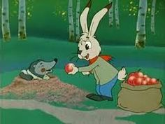 A Bag Full of Apples, 1974. Russian Cartoons, Cartoon Movies, English Language, My Childhood, I Movie, Apples, Disney Characters, Fictional Characters, Bags
