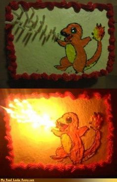ingenious Pokemon cake yummy - for my brother's birthday ;)