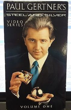 PAUL GERTNER'S STEEL AND SILVER VOL 1 VHS TAPE VIDEO FAMILIAR RING Collectibles:Fantasy, Mythical & Magic:Magic:Tricks www.webrummage.com $19.99