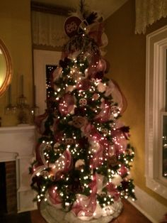 Mississippi State University Christmas tree