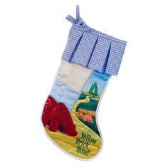 The Wizard of Oz - Yellow Brick Road Stocking